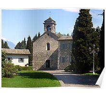Abbey of Piona - Facade Poster