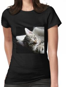 Cute as a Button Womens Fitted T-Shirt