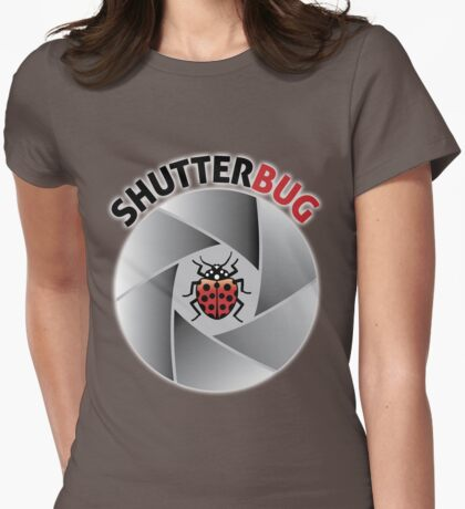 Shutterbug Womens Fitted T-Shirt