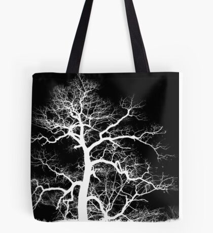 Lightning Tree Tote Bag