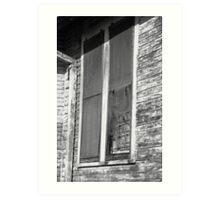 Aged Windows - New Orleans Art Print