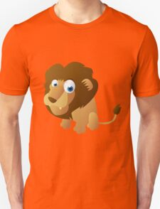 Shy little lion Unisex T-Shirt