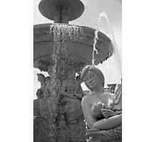 Delaggio Fountain I Photographic Print
