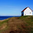building on a hill East Point  by TerrillWelch