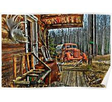 Mile 234 (Prophet River BC) Alaska Hwy Poster