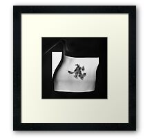 Body Maps - Cells - Torso Framed Print