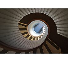 Old Point Loma Lighthouse Staircase Photographic Print