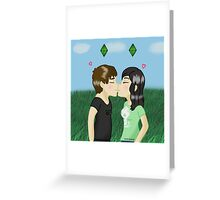 Dil and Tabitha Greeting Card
