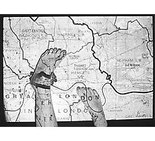 Body Maps - London - Feet Photographic Print
