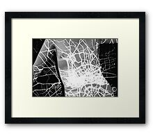 Body Maps - London Lights - Torso Framed Print