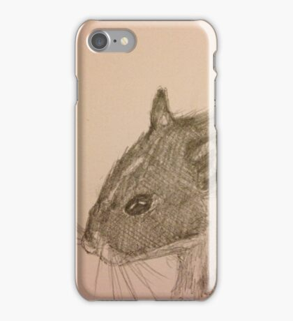 Hamster Drawing iPhone Case/Skin
