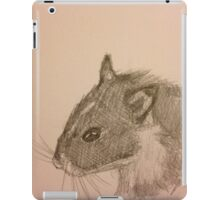 Hamster Drawing iPad Case/Skin
