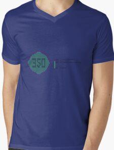 350 Climate Change Tee Mens V-Neck T-Shirt