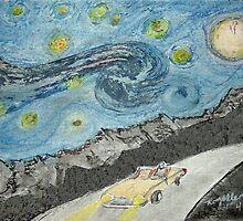 Under a Van Gogh Sky by RoyAllen Hunt