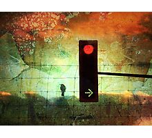 Street Lights and Cold Nights Photographic Print