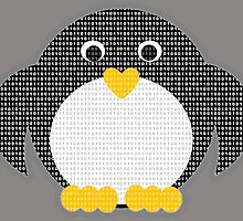 Penguin - Binary Tux by BagChemistry