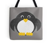 Penguin - Binary Tux Tote Bag
