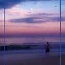 Happy Father's Day - Fishing at Sunset 2 by AngieM