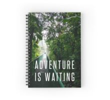 Bridge in Costa Rica Jungle Spiral Notebook