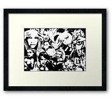 """FILTHY GORGEOUS."" Framed Print"