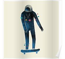 Skate/Space Poster