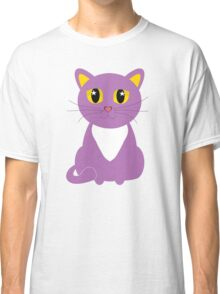 Only One Purple Kitty Classic T-Shirt