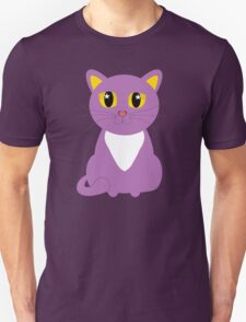 Only One Purple Kitty Unisex T-Shirt