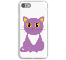 Only One Purple Kitty iPhone Case/Skin