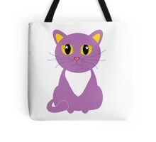 Only One Purple Kitty Tote Bag