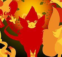 Sun Pokemon by grunesgryphon