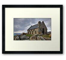Church of the Good Shepherd, Lake Tekapo  Framed Print
