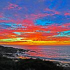SUNRISE OVER CROCKERY BAY, SOUTH AUSTRALIA by Raoul Madden