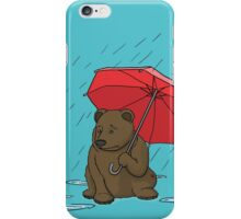 Drizzly Bear iPhone Case/Skin