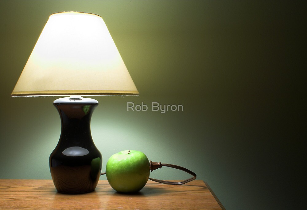 Apple Lamp by Rob Byron
