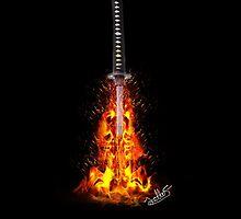 Nietnono Shana (Unrelenting Flame) by Spudtuney12