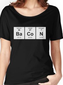 Periodic Table of Bacon Women's Relaxed Fit T-Shirt