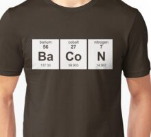 Periodic Table of Bacon Unisex T-Shirt