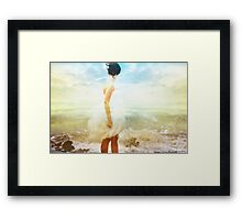 """Be more in touch with your thoughts and feelings Framed Print"
