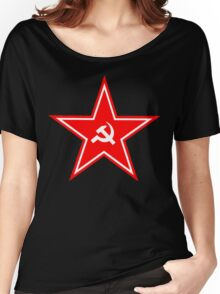Soviet Union Symbol Star Women's Relaxed Fit T-Shirt