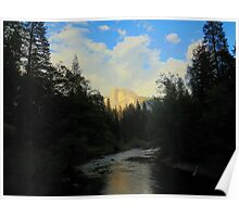 Failed Half Dome Reflection  Poster
