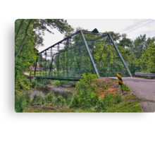 Metal Bridge Canvas Print