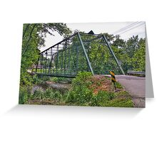 Metal Bridge Greeting Card