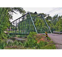 Metal Bridge Photographic Print