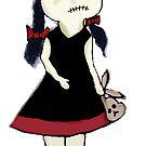 Zombie girl by WindingVines