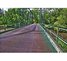 Metal Bridge 2 Photographic Print