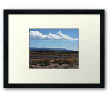 Open Air Motel Framed Print