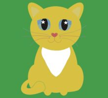 Only One Yellow Kitty Baby Tee