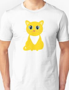 Only One Yellow Kitty T-Shirt
