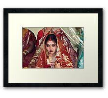 Gorgeous looks. Framed Print