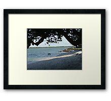 Peacefull Spot- Sunshine Coast Framed Print